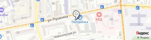ОФИСМАГ на карте Орла
