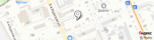 Штерн на карте Орла