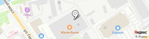 Магазин офисной мебели и оргтехники на карте Орла