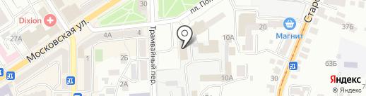 Депутатская группа Железнодорожного района на карте Орла