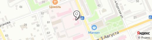 Альфа на карте Орла