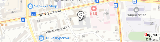 Вилон на карте Орла