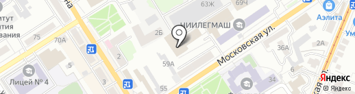 Performance на карте Орла