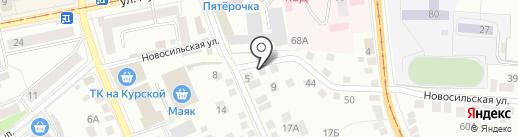 Акадия на карте Орла