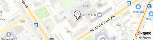 Кип-электро на карте Орла