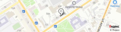 Сеть автомаркетов на карте Орла