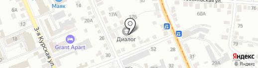 Библиотека №10 им. Н.М. Рубцова на карте Орла