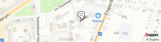 Стем на карте Орла