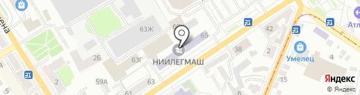CNI на карте Орла