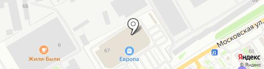 Счастливый взгляд на карте Орла