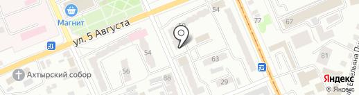 Магазин металлической мебели на карте Орла