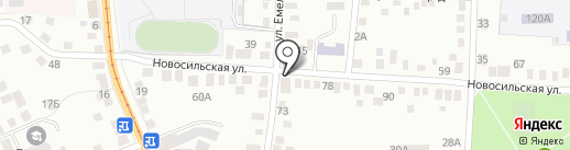 Браво на карте Орла