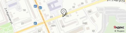Автомотив на карте Орла