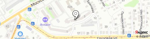 Холдинг Недвижимость на карте Орла