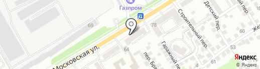 Экран плюс на карте Орла