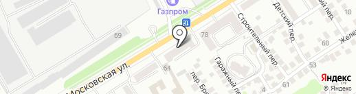 Амортизаторы на карте Орла