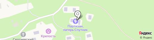 Барское поместье на карте Мстихино
