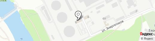 Центральная генерация на карте Орла
