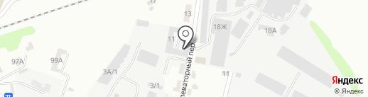 Сокол Фармс–Орел на карте Орла