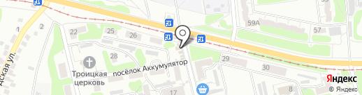 Магазин текстиля для дома на карте Курска