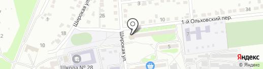 Мясной №1 на карте Курска