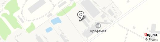 КРАФТМЕТ на карте Эммауса