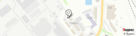 Орловские Стеллажи на карте Орла