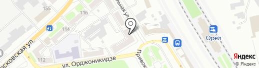 Clavel Color Center на карте Орла