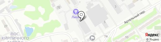 СМП-22 на карте Орла