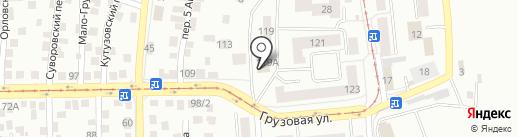 ОрелПраздник.рф на карте Орла