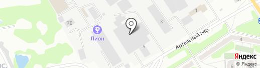 Технорос на карте Орла