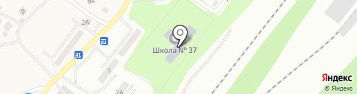 Средняя общеобразовательная школа №37 на карте Калуги