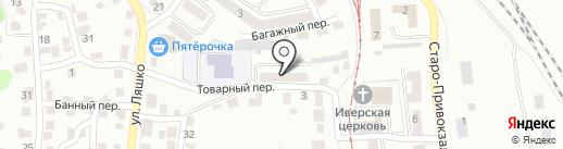 Детский (подростковый) центр Железнодорожного района на карте Орла