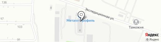 DAF-запчасти на карте Курска