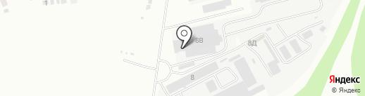 ПК Кристалл-Лефортово на карте Курска