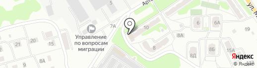 Эконом на карте Орла