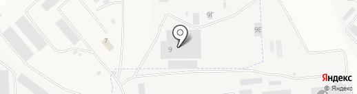Промстройгаз на карте Орла