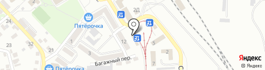 Орловский край на карте Орла