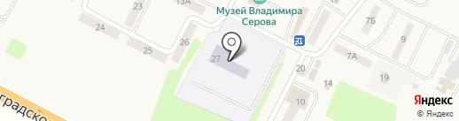Всероссийский НИИ мелиорированных земель при Российской академии сельскохозяйственных наук на карте Эммауса
