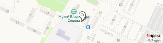 Киоск по продаже семян и цветов на карте Эммауса
