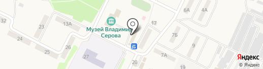 Ажур на карте Эммауса