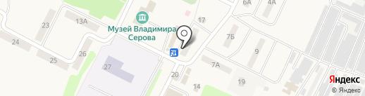 Тверской печной центр на карте Эммауса