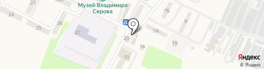 Банкомат, Среднерусский банк Сбербанка России на карте Эммауса