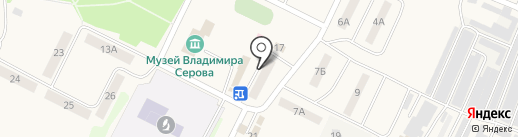 Альфа Пицца на карте Эммауса