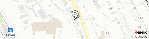 Хозтовары на карте Орла