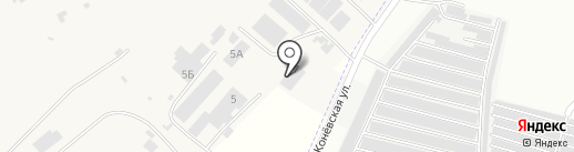 ЛЭЗ на карте Орла