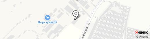 ЗИДАМ на карте Орла