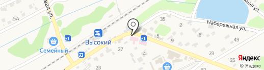 ХМК на карте Высокого