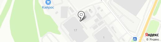 Контакт на карте Курска