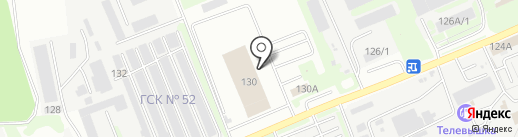 Пункт технического осмотра на карте Курска
